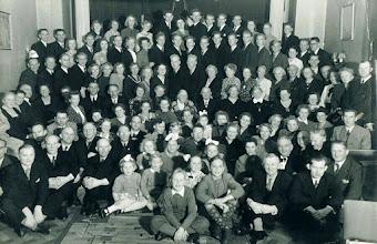 Photo: Rasmussen.Sand family ~1950