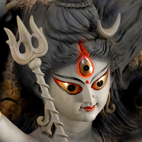Maa Durga... by Gautam Tarafder - Artistic Objects Other Objects (  )