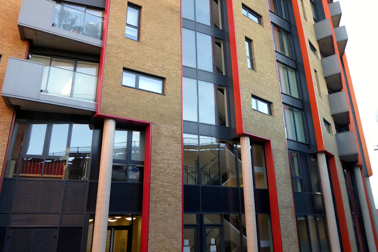 Exterior of Maltby Street Apartments London Bridge