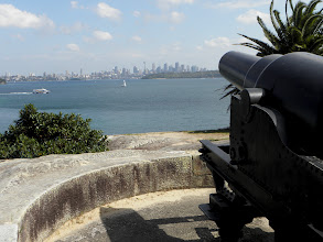 Photo: Cannon dating from 1872, Sydney Australia