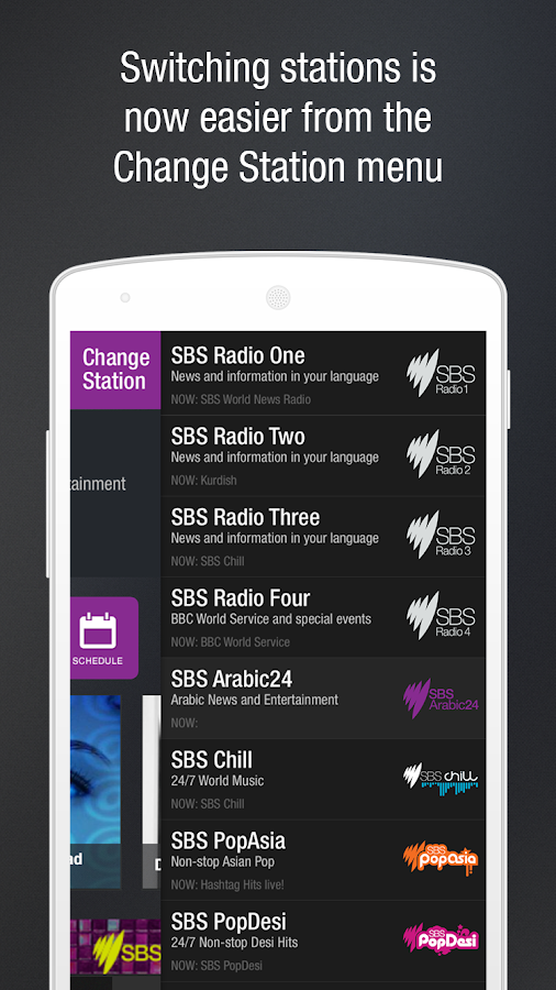 SBS Radio- screenshot
