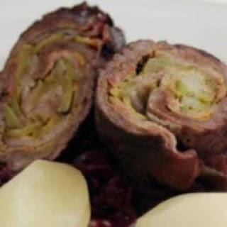 Rouladen (Meat Rolls) German.