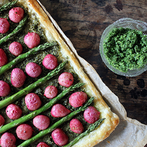 Asparagus And Parmesan Tart Puff Pastry Rezepte | Yummly
