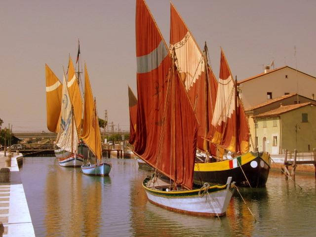Porto canale di Cesenatico di bibou