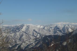 白山と西部の山