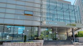 Sede del Banco de Crédito Cooperativo en el Paseo de la Castellana de Madrid.