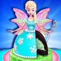 Glow in The Dark Ice Cream Fairy Cake! Magic Dolls icon