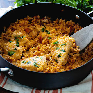 One Pot Fiesta Chicken & Rice