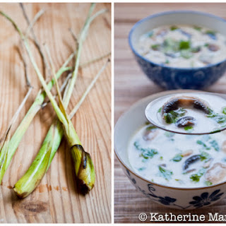 Thom Kha Hed (Thai Coconut Mushroom Soup) Recipe