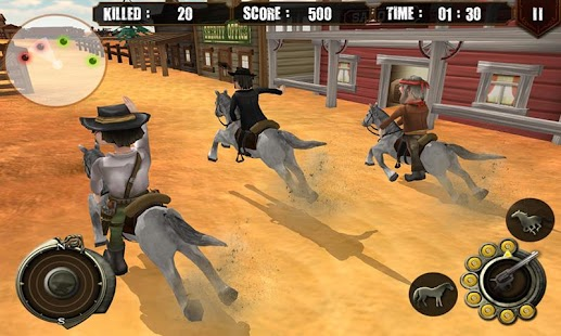 Cowboy Hunter Western Bounty- screenshot thumbnail