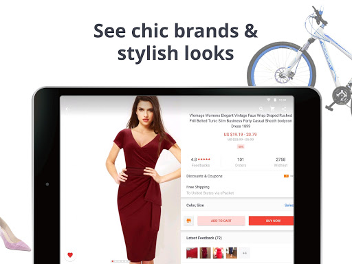 AliExpress Shopping App - Coupon For New User screenshot 10