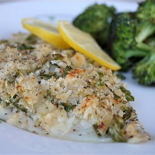 Fish Oreganata.