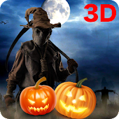 3D Halloween live wallpaper
