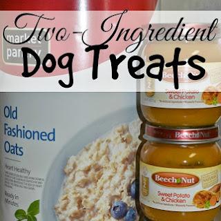 Two-Ingredient Dog Treats