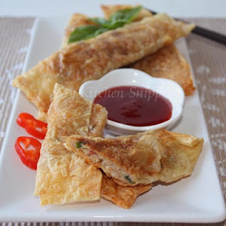 Pan Fried Bean curd Rolls