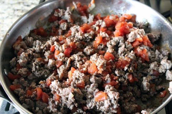 Add drained diced tomatoes (save the juice in case you need it), garlic &...