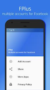 App fPlus: Multi Accounts for Facebook APK for Windows Phone