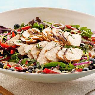 Blueberry-Balsamic Grilled Chicken Salad