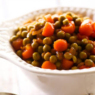 Saucy Peas and Carrots.