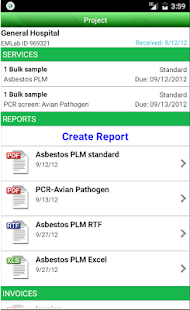 EMLab P&K LabServe® Mobile- screenshot thumbnail