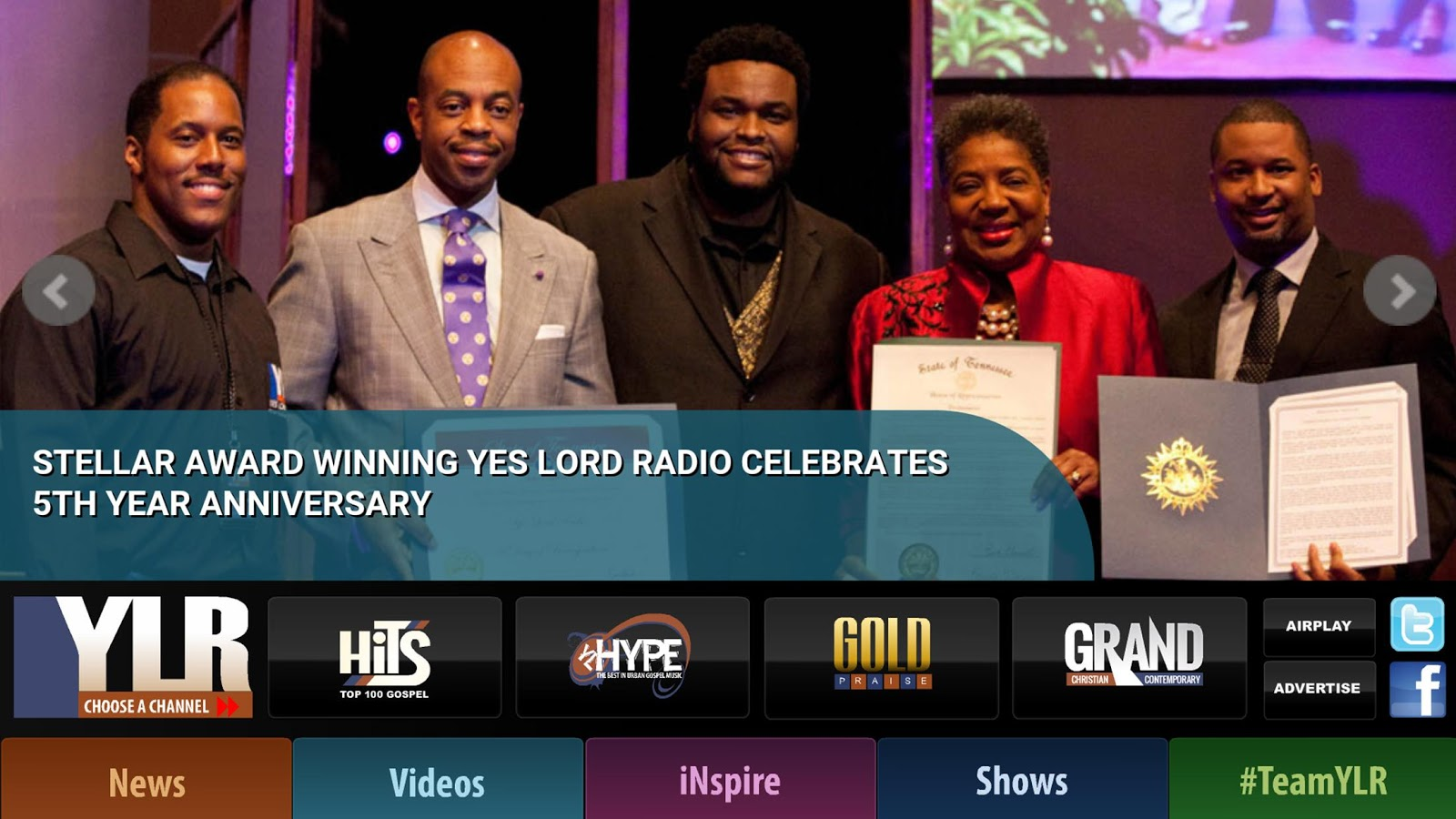 Yes Lord Radio- screenshot