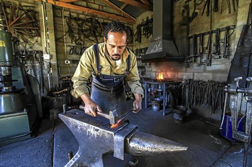 Karoo Blacksmith S Business Heats Up As Handmade Furniture
