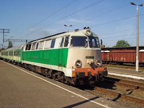 Photo: SU45-156, Toruń Główny - Działdowo {Toruń Wschodni; 2004-05-31}
