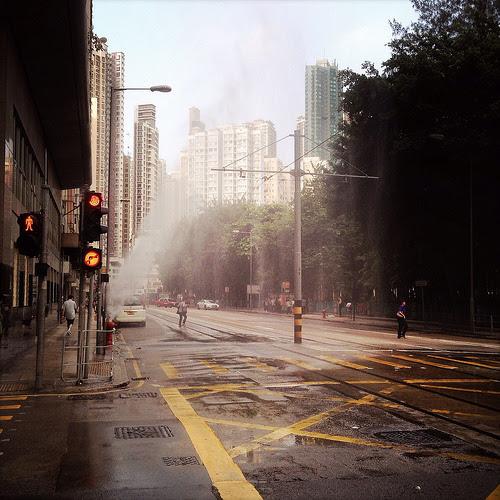 Broken, Fire Hydrant,  消防栓, 漏水, 香港