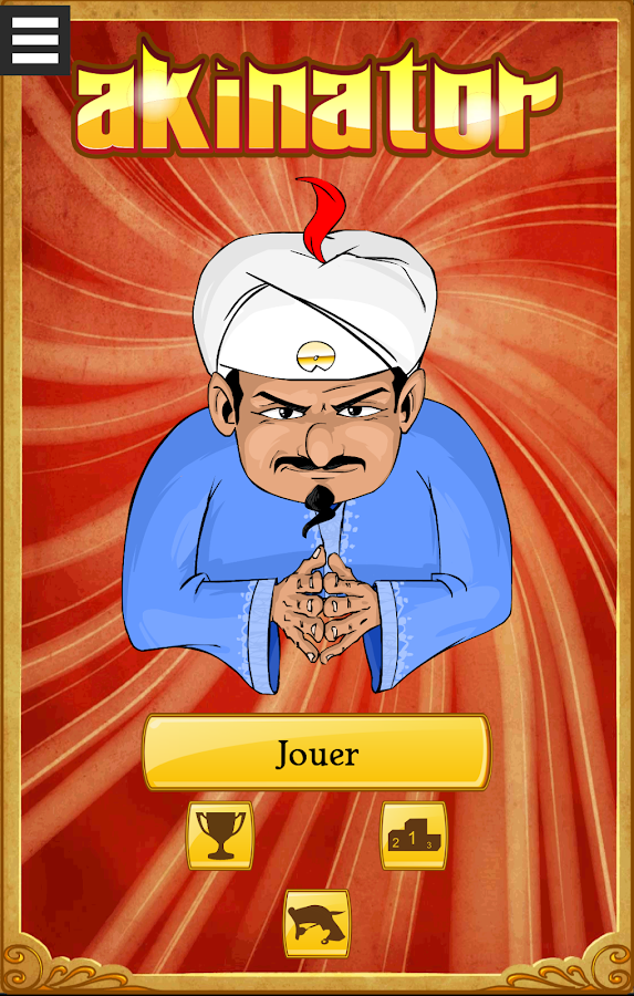 akinator the genie free applications android sur google play. Black Bedroom Furniture Sets. Home Design Ideas