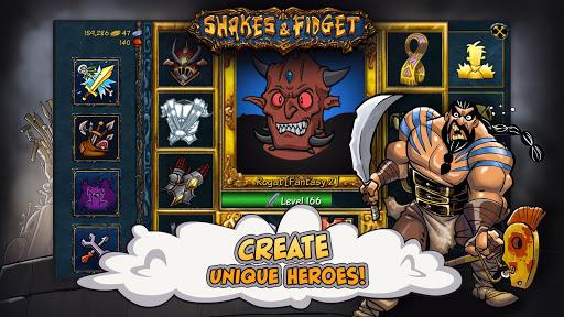 Shakes and Fidget Retro screenshot 1
