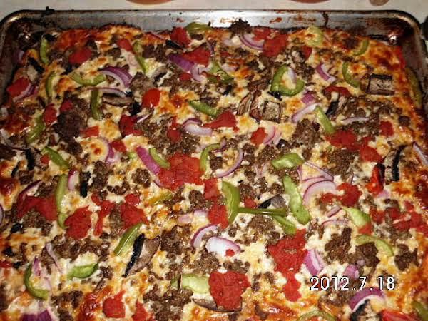Full Flavored Pizza Recipe