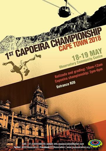 1st Cape Capoeira Games : Observatory Community Centre