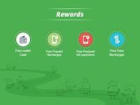 screenshot of Get Wallet Cash & Recharge