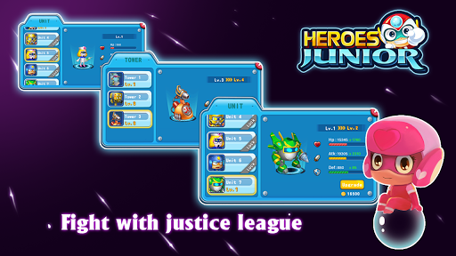 SuperHero Junior - Galaxy Wars Offline Game image | 10