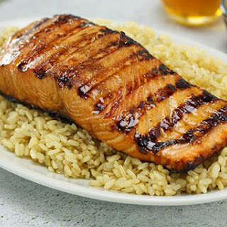 Honey Soy Salmon.