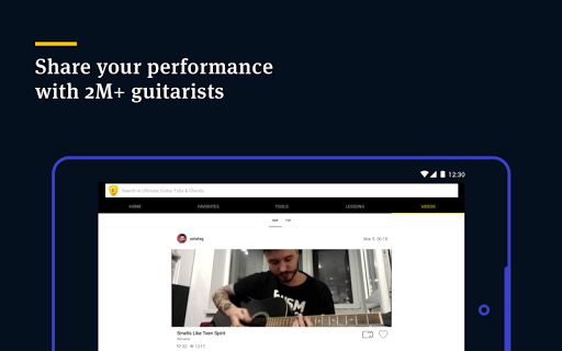Ultimate Guitar Tabs & Chords screenshot 15