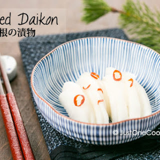 Pickled Daikon