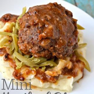Mini Meatloaf Dinner {30 Minute Meals}