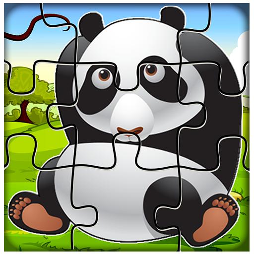 解谜の赤ん坊の漫画のジグソーパズル LOGO-記事Game