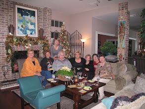 Photo: Christmas 2006 at Kathi (Hesson) Curtis's home. Rita (Leeper) Sholund, Michele (Baldree) Bibb, Kathi (Hesson) Curtis, Rosemary (Worhty) Dooley, Pam (English) Williams, Suzy (Wright) Thomas, Carol (Craven) Barnes, Mary (Traud) Austin