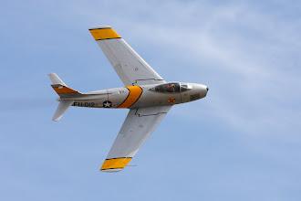 Photo: North American F-86F Sabre