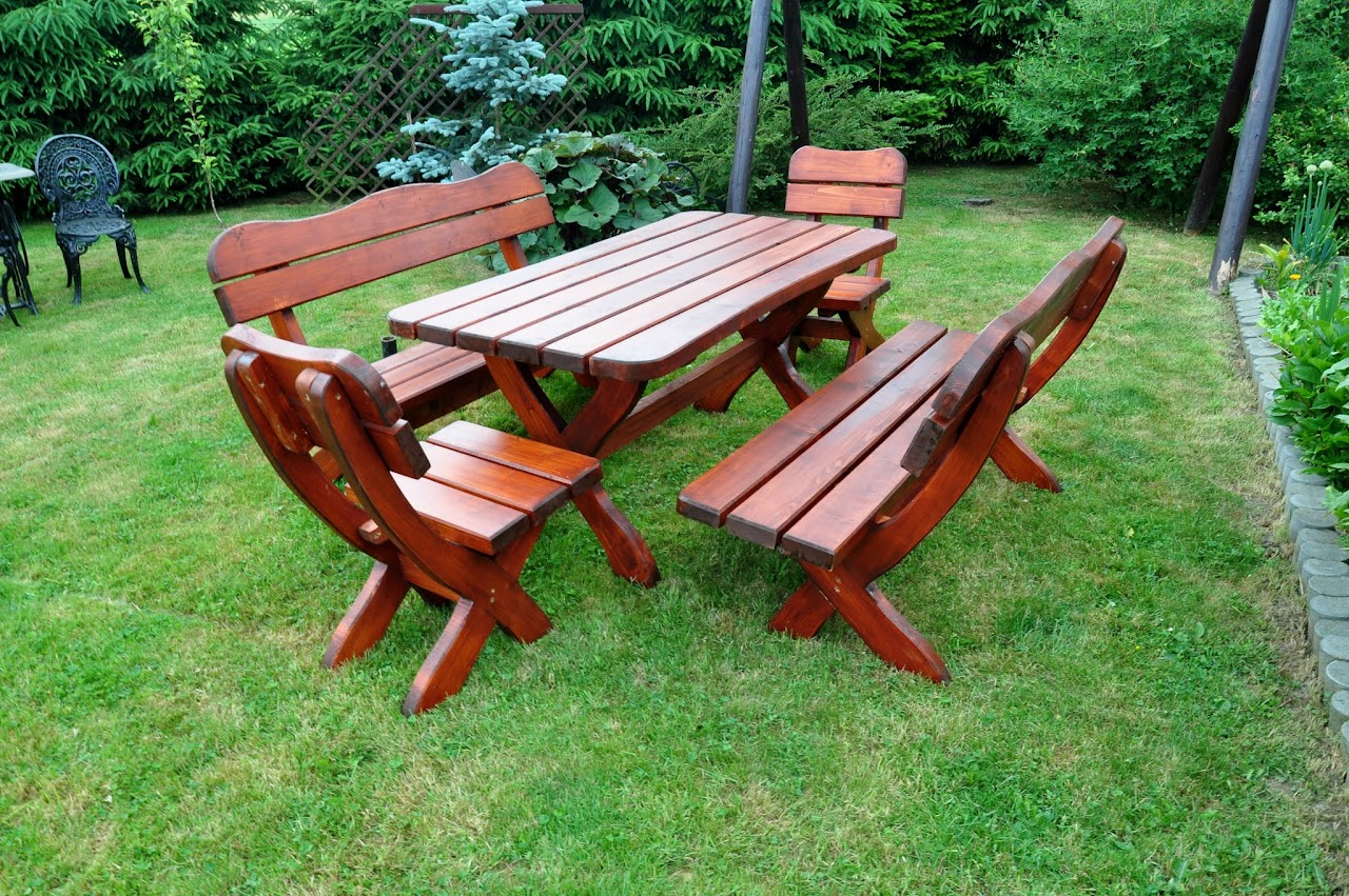 Meble Ogrodowe Wyprzedaz Praktiker : Meble ogrodowe z drewna !OKAZJA 15% Wyprzedaż ! (5911902496