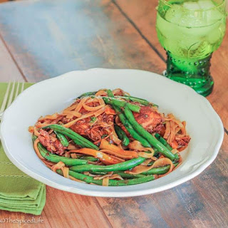 Asian Braised Chicken and Noodles