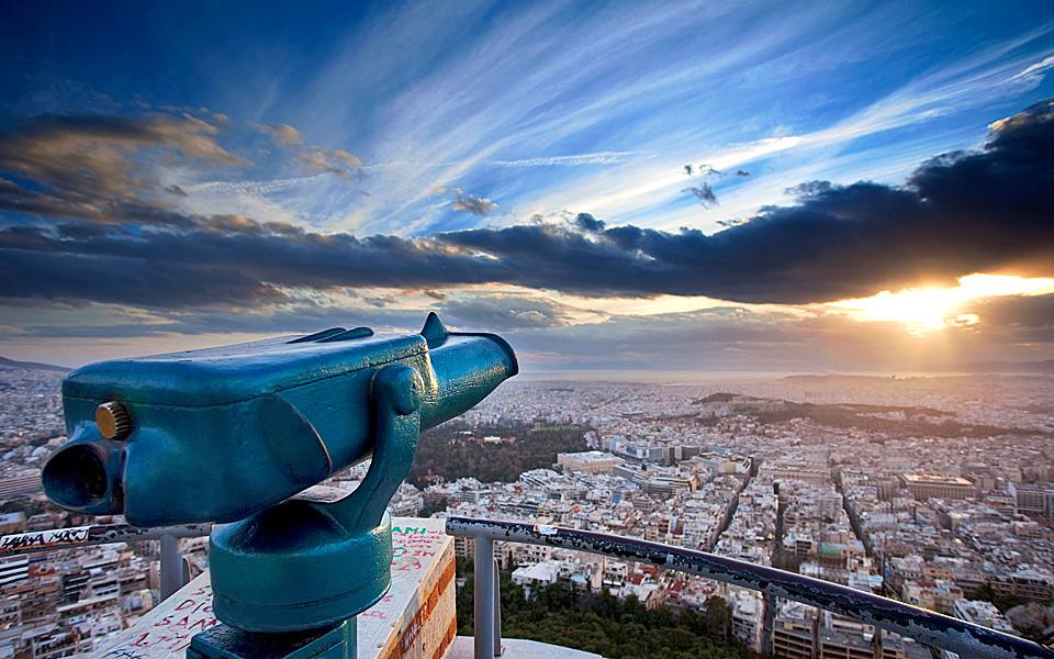 Cosa vedere Atene Collina del Licabetto