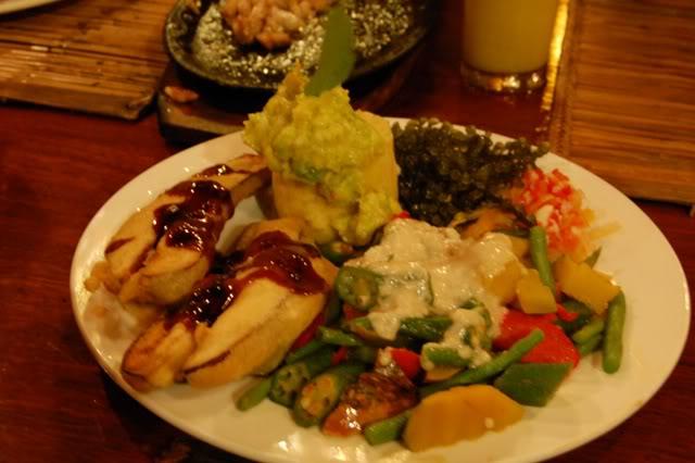 veggie platter