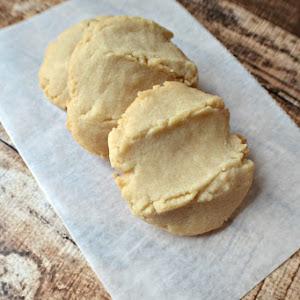 4 Ingredient CPS Lunchroom Butter Cookies