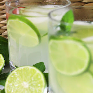 Old-Fashioned Fresh Squeezed Limeade.