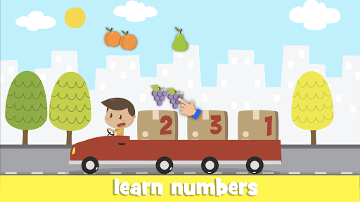 Learn fruits and vegetables - games for kids  screenshots 7