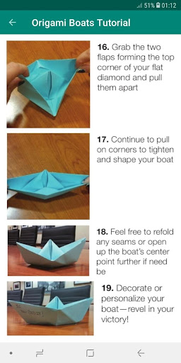 How to Make a Paper Boat with a Flag & Lifesaver | 512x256