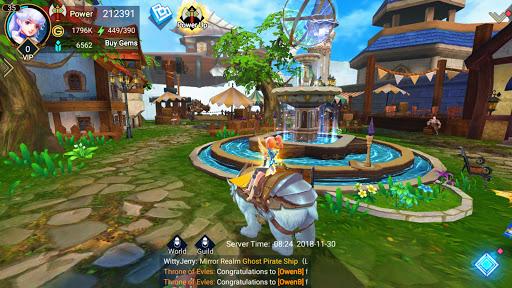 Throne of Elves: 3D Anime Action MMORPG 2.18.5 screenshots 16